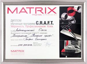 Сертификат Matrix